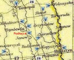 map: area near Tarnopol; CLICK to Zoom OUT